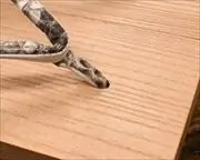 合目柾真角にニシキヘビ革細花緒 前壷