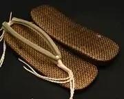 茶パナマ草履